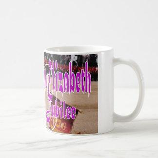 Diamond Jubilee commemorative siteseeing mug