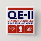 Diamond Jubilee Commemorative T-Shirt 15 Cm Square Badge