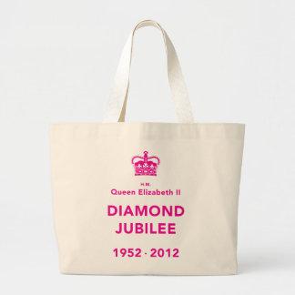 Diamond Jubilee Commemorative T-Shirt [Calm] Jumbo Tote Bag