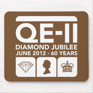 Diamond Jubilee Commemorative T-Shirt Mouse Pad