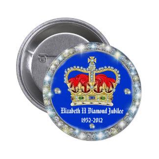 Diamond Jubilee Crown Badge