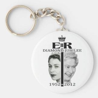 Diamond Jubilee Key Ring