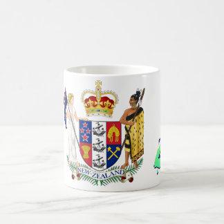 Diamond Jubilee New Zealand Coffee Mugs
