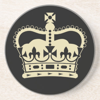 Diamond Jubilee Souvenir Coasters [Crown]