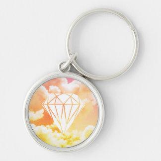 Diamond Key Ring