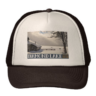 Diamond Lake Winter Cap