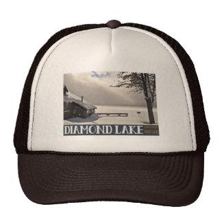 Diamond Lake Winter (no text) Cap