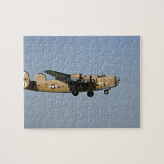 Diamond Lil B-24 Bomber, landing at Oshkosh, Jigsaw Puzzle