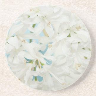 Diamond Lily Beverage Coasters