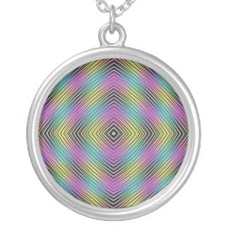 Diamond lines Necklace