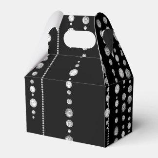 Diamond Look Party Favor Box Wedding Favour Boxes