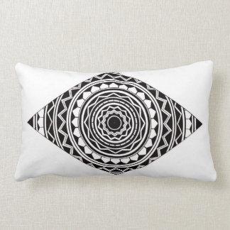 Diamond Mandala Design Lumbar Cushion