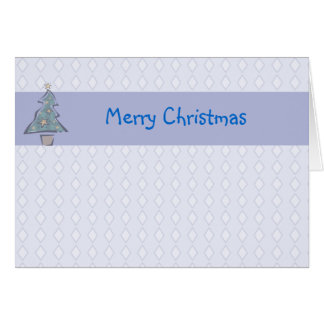 Diamond Merry Christmas Greeting Card
