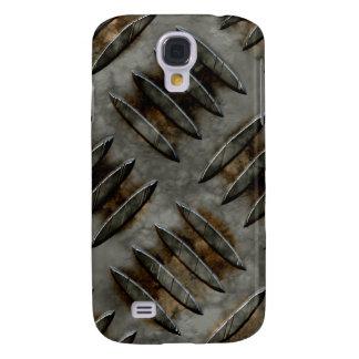 Diamond Metal Plate Grunge Samsung Galaxy S4 Case