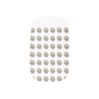 Diamond Minx Nail Art, Single Design per Hand Nails Sticker
