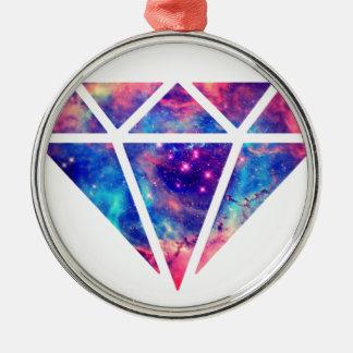 Diamond Nebula Design Christmas Ornament