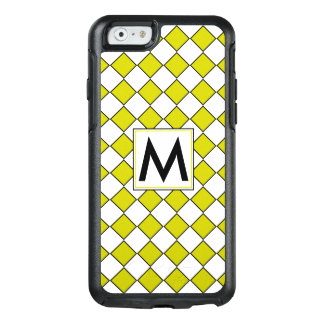Diamond Pattern #10 Monogrammed OtterBox iPhone 6/6s Case
