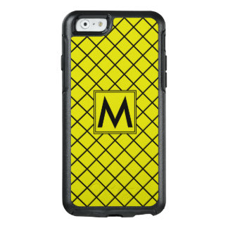 Diamond Pattern #11 Monogrammed OtterBox iPhone 6/6s Case