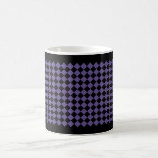 Diamond Pattern #128 Ultraviolet Coffee Mug