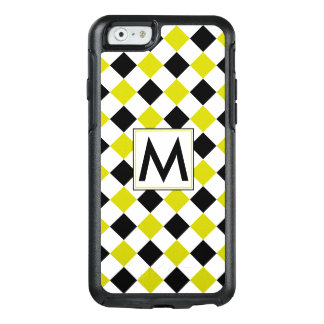 Diamond Pattern #1 Monogrammed OtterBox iPhone 6/6s Case