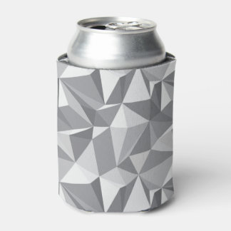 Diamond Pattern - Abstract Polygon Can Cooler
