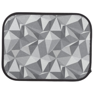 Diamond Pattern - Abstract Polygon Car Mat