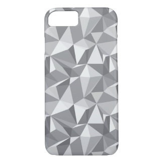 Diamond Pattern - Abstract Polygon iPhone 8/7 Case