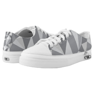 Diamond Pattern - Abstract Polygon Low Tops
