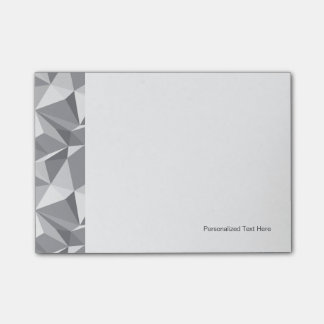 Diamond Pattern - Abstract Polygon Post-it Notes