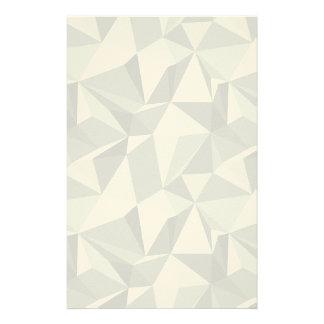 Diamond Pattern - Abstract Polygon Stationery