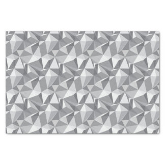 Diamond Pattern - Abstract Polygon Tissue Paper