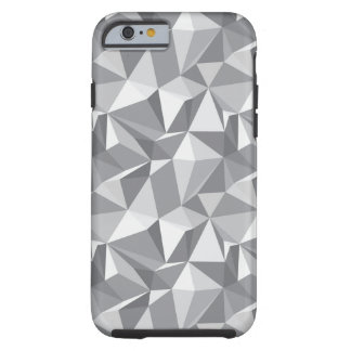 Diamond Pattern - Abstract Polygon Tough iPhone 6 Case