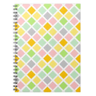 Diamond Pattern custom notebook