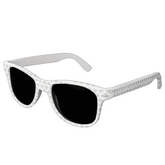 Diamond Pattern Frame Sunglasses