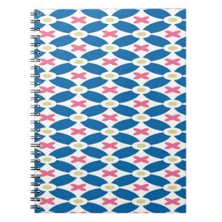 Diamond Pattern Note Books