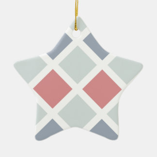 Diamond Pattern ornament, customize Christmas Ornament