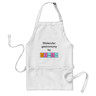 Diamond periodic table name apron