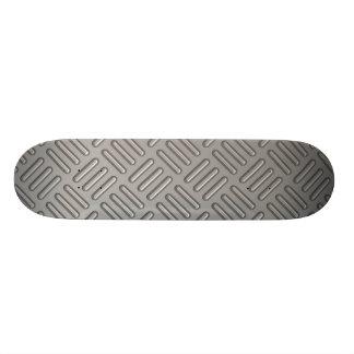 Diamond Plate Faux Pattern Skate Decks