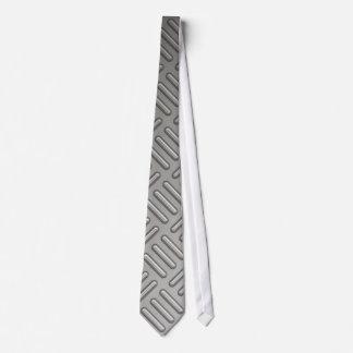 Diamond Plate Faux Pattern Tie