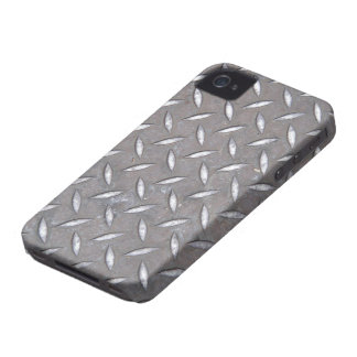 Diamond Plate iPhone 4/4S Case Mate Case iPhone 4 Cover