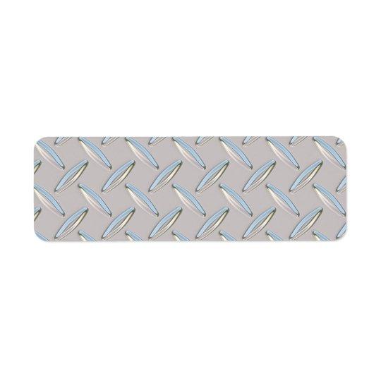 Diamond Plate Metallic