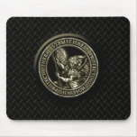 Diamond Plate & St Mike Mouse Mat