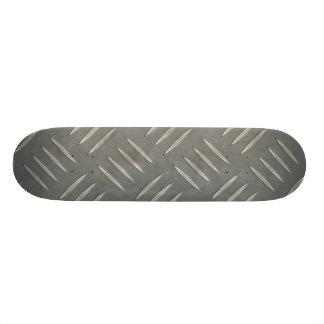 Diamond Plate Stainless Steel Textured Skate Decks