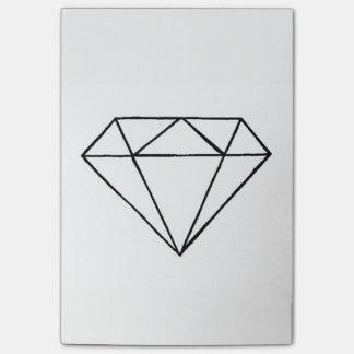 Diamond post it post-it notes