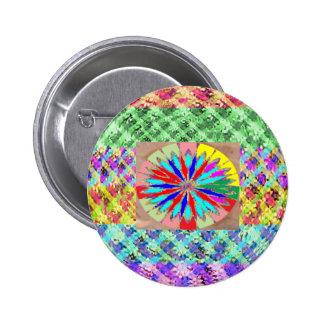 Diamond Power Balls 6 Cm Round Badge