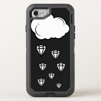 Diamond rain OtterBox defender iPhone 8/7 case