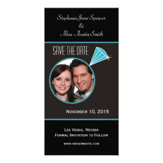 Diamond Ring Save The Date Photo Cards