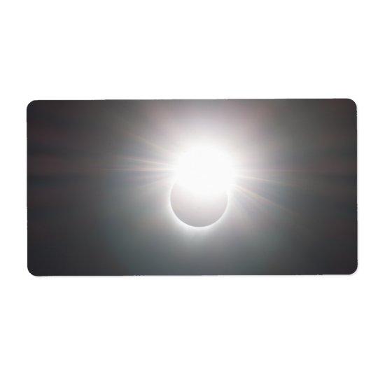 Diamond Ring Shipping Label