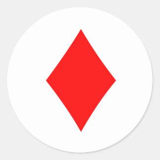 Diamond Round Sticker