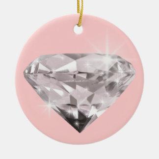 Diamond  shine adorn christmas ornament